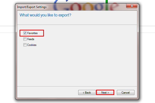 Exporting, Importing and Backing Up Your Internet Bookmarks